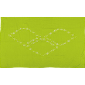arena Halo Towel leaf-white